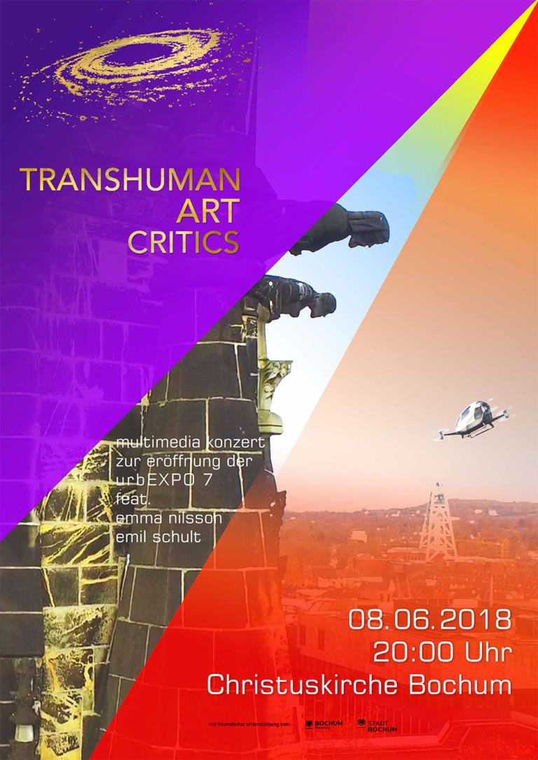 TRANSHUMAN ART CRITICS CONCERTS